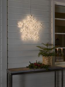 LED-lumihiutale Konstsmide 60 cm