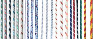 Köysi Seilflechter Atlantik Compact Valkoinen/Sininen 5 mm