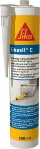 Saniteettisilikoni Sika Sikasil-C 300 ml