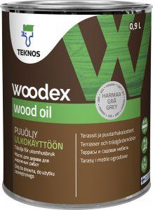 Puuöljy Teknos Woodex Wood Oil Harmaa