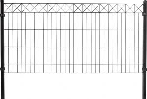 Paneeliaita 78 x 200 cm musta X-koriste