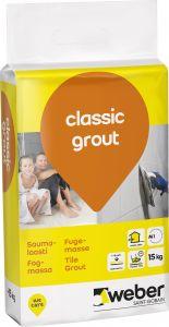 Saumalaasti Weber Classic Grout 15 kg