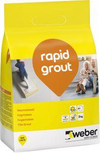 Saumalaasti Weber Rapid Grout 3 kg