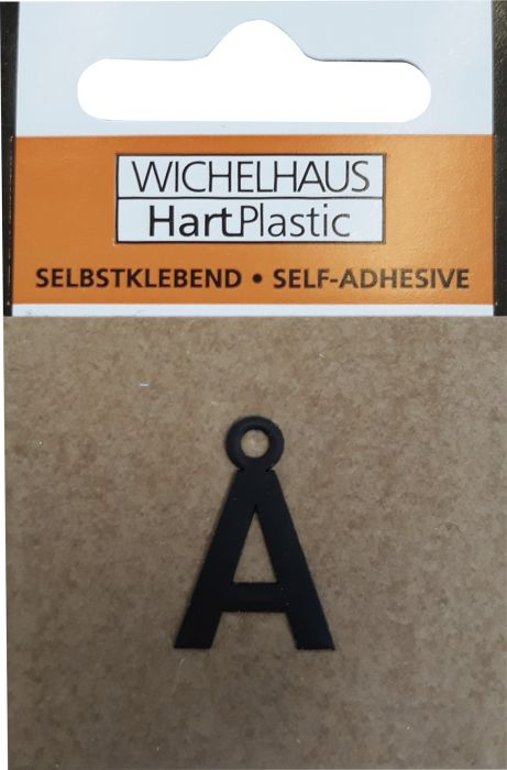 Kirjain Wichelhaus HartPlastic Musta 15 mm Å