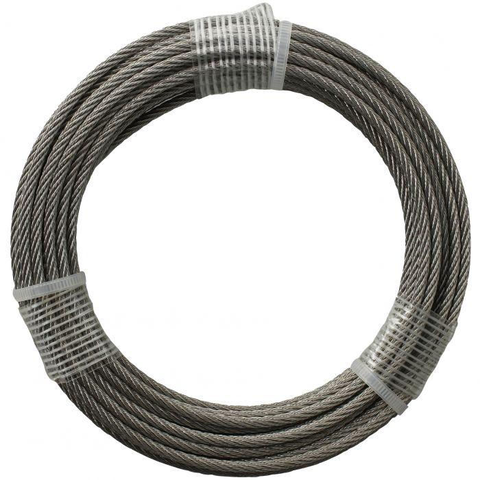 Teräsvaijeri Stabilit DIN 3055 Ø 3 mm ruostumaton