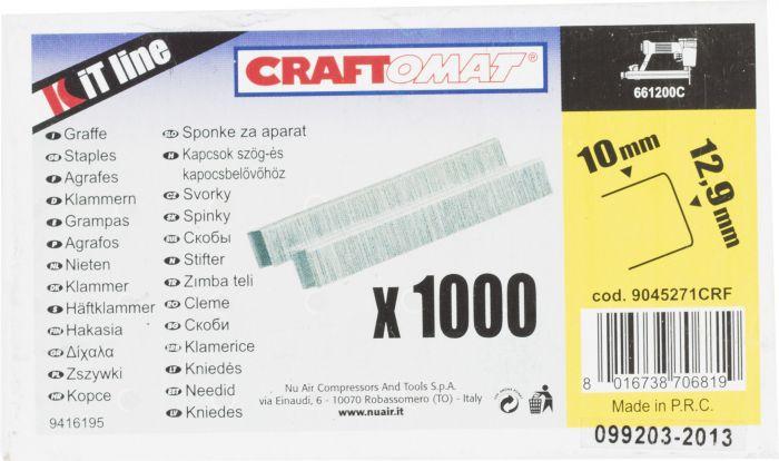 Hakanen 10 x 12,9 mm 1000 Kpl