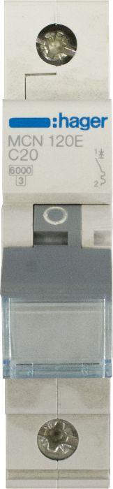 Automaattisulake Hager 1 x 20A C