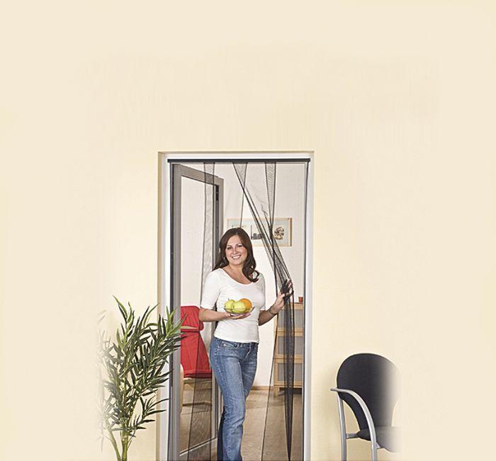 Hyönteisverkko Easy Life Luxus 100 x 220 cm Antrasiitti 4-lamellia