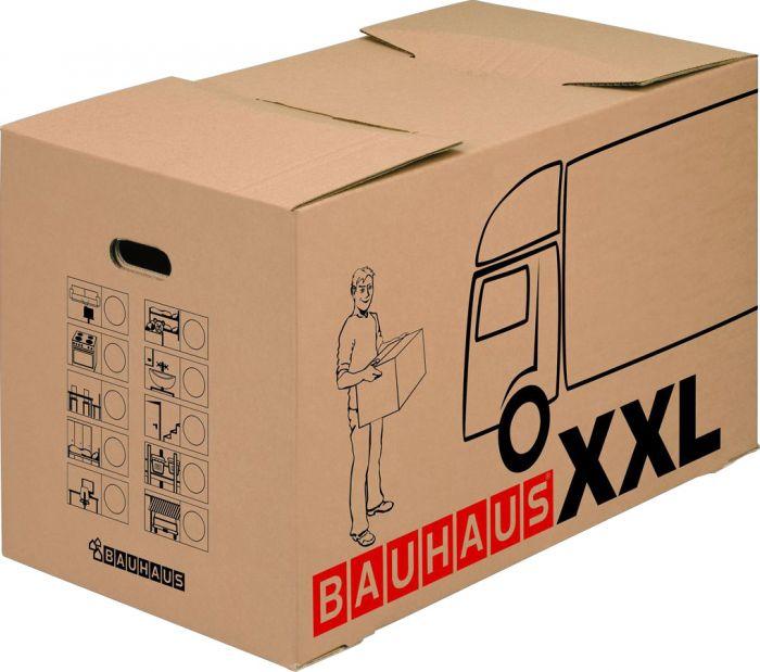 Muuttolaatikko Bauhaus XXL 72,5 x 41 x 44 cm