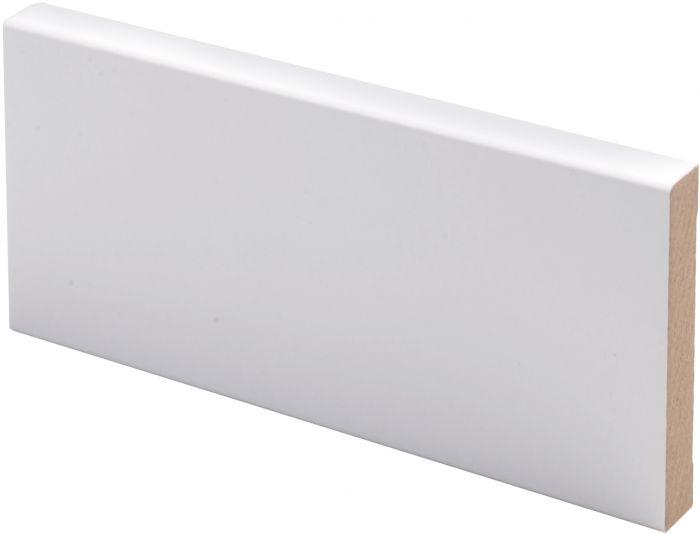 Peitelista Maler 12 x 70 x 3300 mm MDF valkoinen
