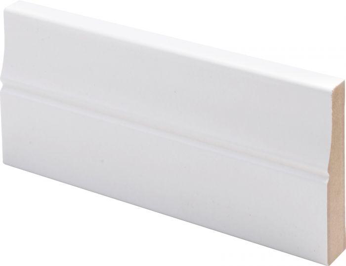 Peitelista Maler Piirto 16 x 70 x 2200 mm MDF  valkoinen