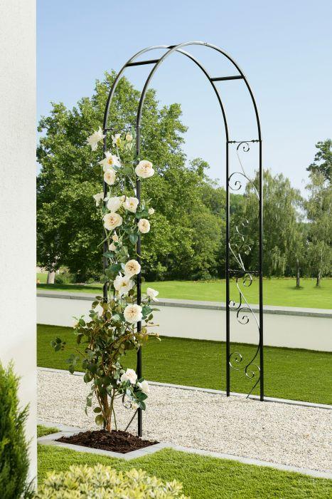 Ruusukaari Elian Musta 120 x 26 x 240 cm