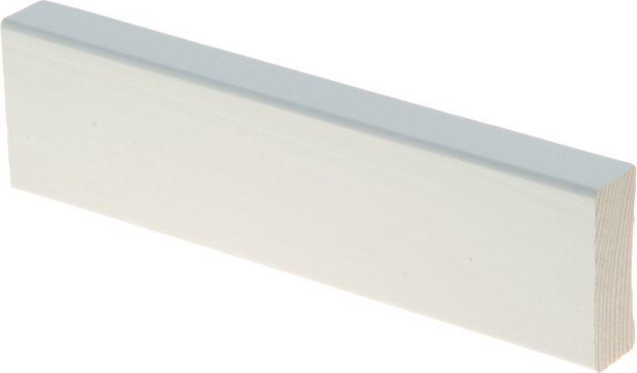 Peitelista Maler 15 x 42 x 2200 mm mänty sormijatkettu valkoinen