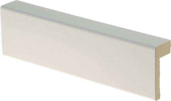Reunalista Maler 21 x 42 / 13 x 2200 MDF valkoinen