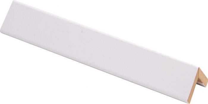 Taitelista Maler 4 x 20 x 20 x 2750 mm MDF puhdas valkoinen