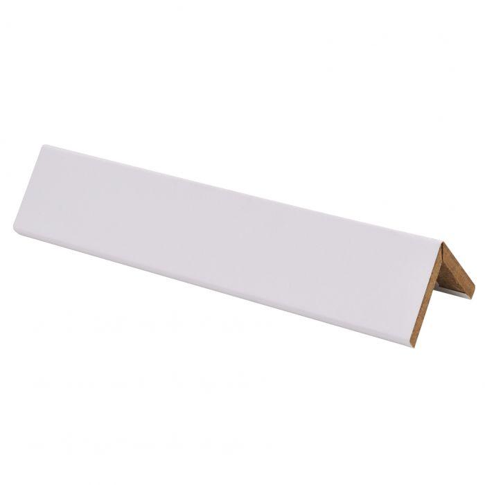 Taitelista Maler 4 x 30 x 30 x 2750 mm MDF puhdas valkoinen