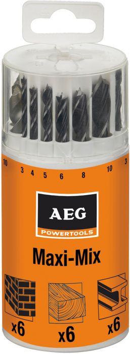 Poranteräsarja AEG 18-os