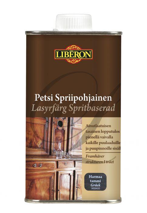Kuultomaali Liberon Spriipohjainen Harmaa Tammi 250 ml