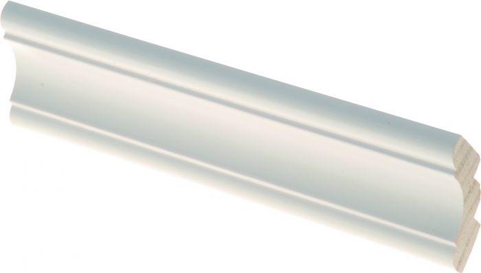 Kattolista Maler Aura 30 x 30 x 2700 mm Mänty Valkoinen