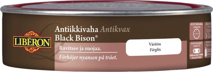 Antiikkivaha Liberon Black Bison Väritön 150 ml