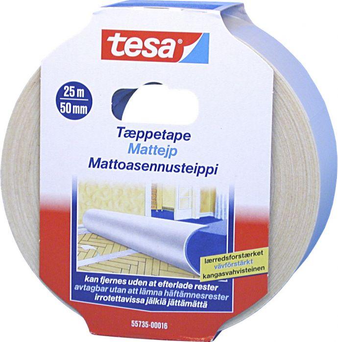 Mattoasennusteippi Tesa Irroitettava 25 m x 50 mm