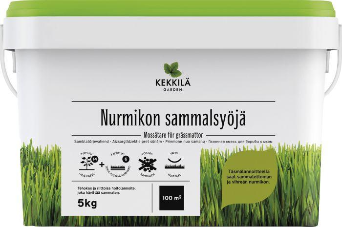 Nurmikon Sammalsyöjä Kekkilä 5 kg