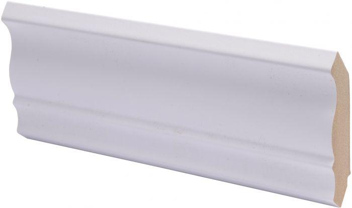 Kattolista Maler Piirto 42 x 42 x 2750 mm MDF puolikiiltävä valkoinen