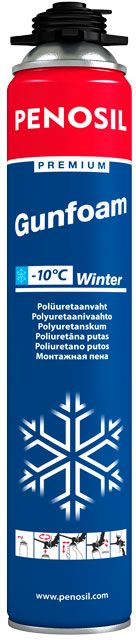 Polyuretaanivaahto Penosil Premiun Gunfoam -10°C Winter 750 ml