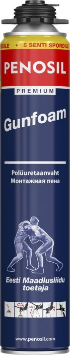 Polyuretaanivaahto Penosil Premium Gun Foam 750 ml