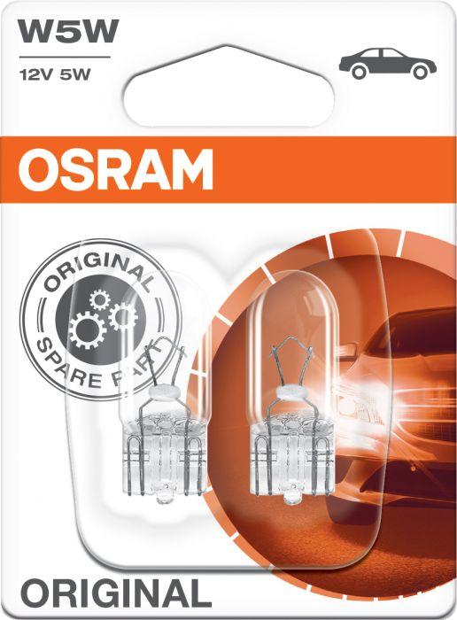 Polttimo Osram Original Vilkkuvalo 2825 W5W 2 kpl
