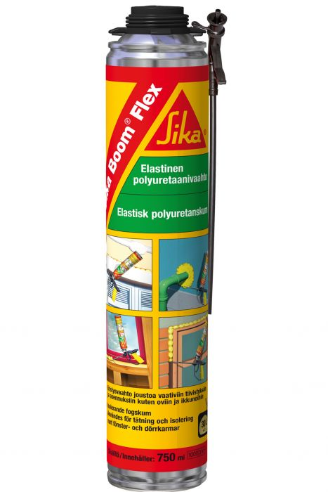 Polyuretaanivaahto Sika Boom Flex 750 ml Pistooli