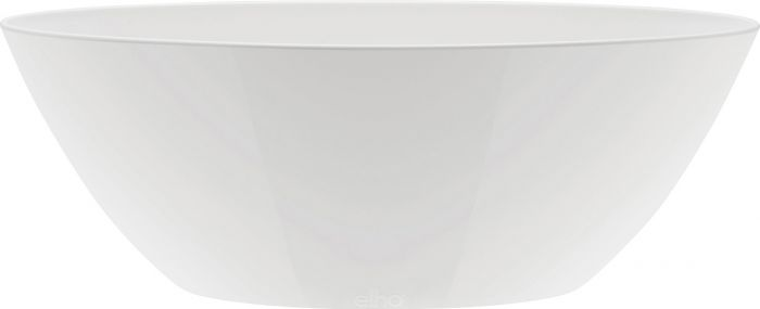 Kukkaruukku Elho Brussels Diamond Oval Valkoinen 20 cm
