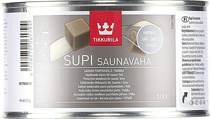 Supi Saunavaha Harmaa