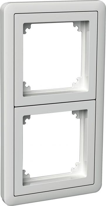 Kehys Schneider Exxact Combi 2 -osainen Adapterilla Valkoinen