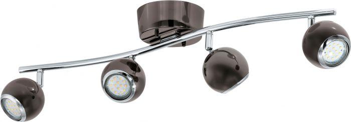 Spottivalaisin Eglo Bimeda LED 4-Os Musta