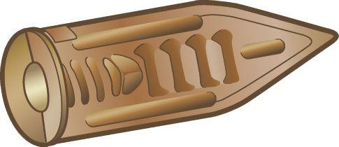 Kipsiankkuri Essve Arrow 3,5 mm 8 Kpl