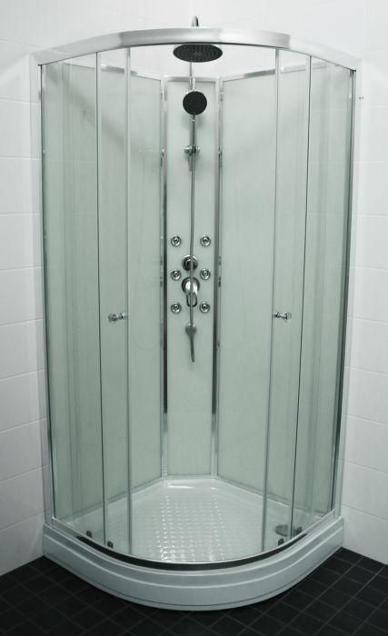 Suihkukaappi Eago Raindrop 90 x 90 cm