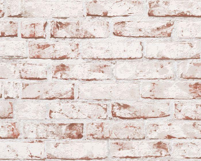 Tarrapaneeli PopUp Tiiliseinä 3D Punainen / Valkoinen 0,52 X 2,5 m