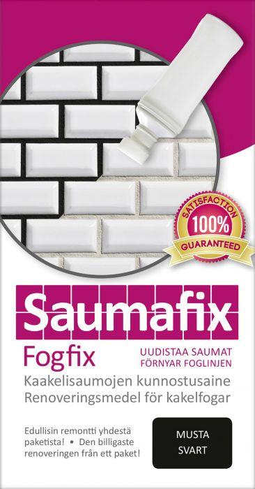 Kaakelisauma-aine Saumafix Musta 100 ml