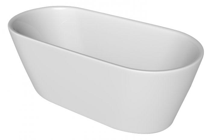 Kylpyamme Camargue Skärgård Visby 160 cm Valkoinen