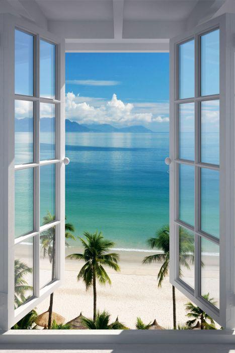 Sisustustaulu Reinders Beach Window 60 x 90 cm