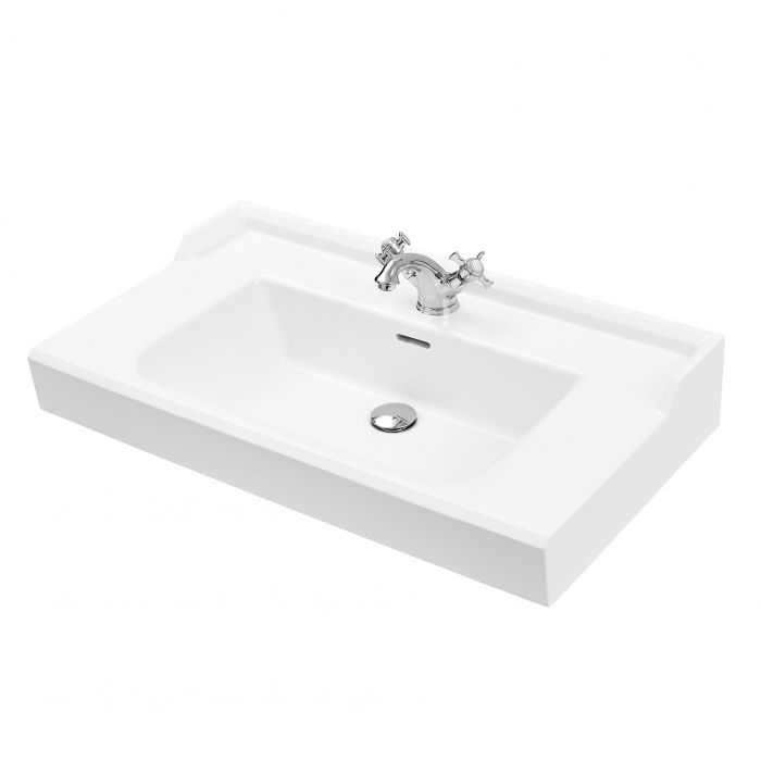 Pesuallas Svedbergs Stil 80 x 35 cm valkoinen