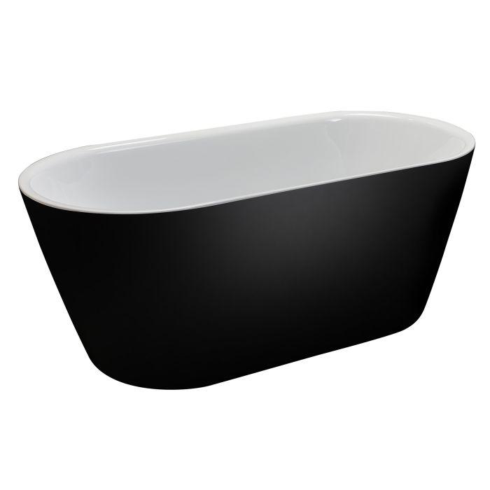 Kylpyamme Camargue Skärgård Visby 160 cm Musta