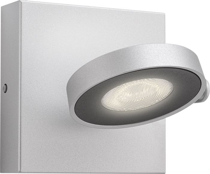 Spottivalaisin Philips Clockwork 2 x 4 W LED Alumiini