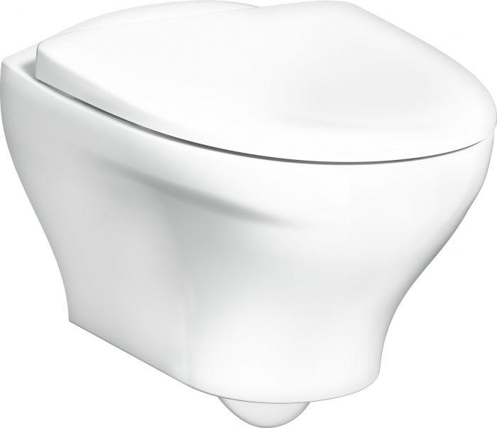 Seinä-WC Gustavsberg Estetic 8330 C+ Mattavalkoinen