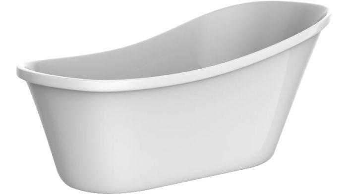 Kylpyamme Camargue Siljan 160 Valkoinen
