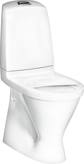 WC-istuin Gustavsberg Nautic 1546 Duo, S-lukko, korkea malli