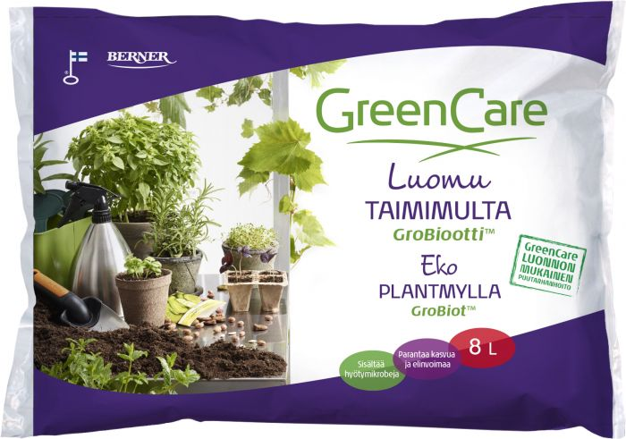 Taimimulta Greencare Grobiootti 8 l