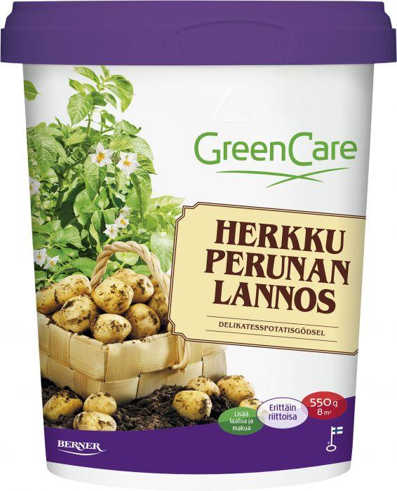 Herkkuperunalannos Greencare 550 g