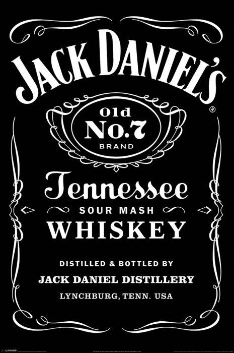 Sisustustaulu Reinders Jack Daniel's Label